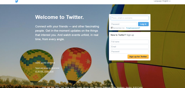 Twitter-home