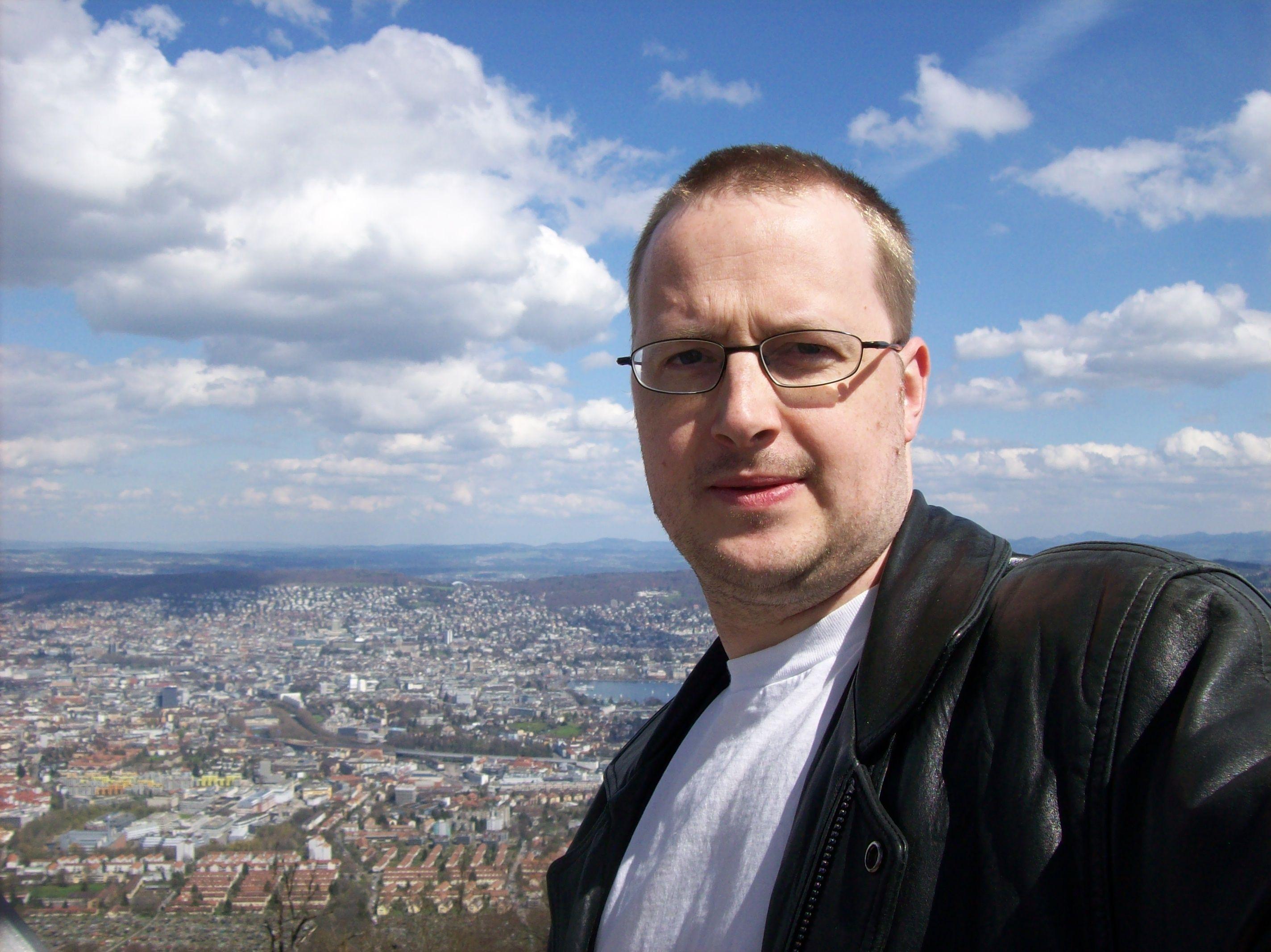 Aaron Hoos in Zurich Switzerland in 2008