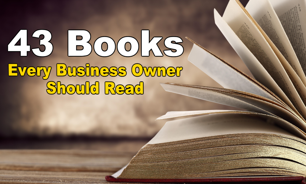 43 Books Every Business Owner Should Read - Aaron Hos